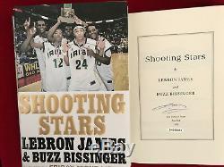 Lebron James Signedshooting Starshcdj 1st/1st Ud Certified Brand-new