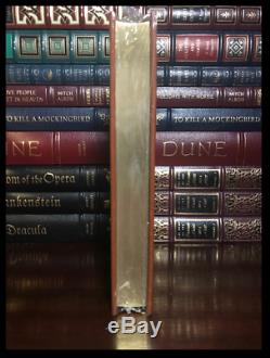Life of Pi SIGNED by YANN MARTEL New Sealed Easton Press Leather Bound Gift Ed
