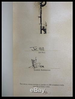 Locke & Key Welcome To Lovecraft SIGNED by JOE HILL Subterranean Press 1/250