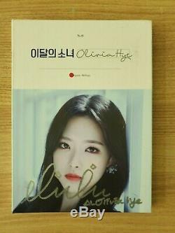 Loona Olivia Hye Signed Promo Album