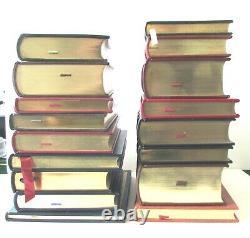 Lot 17 Easton PRESS Leather Guilded Book SIGNED Twain Thoreau Crane Melville