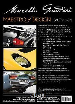 Marcello Gandini Maestro of Design by Gautam Sen. Signed by author and Gandini