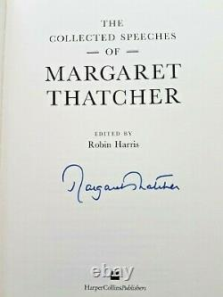 Margaret Thatcher The Collected Speeches Harper Collins 1997 Signed 1/1