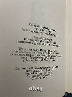 Matilda by Roald Dahl 1st Edition signed by Roald Dahl