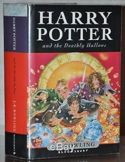 Midnight Signing 1st/1st Edharry Potter And The Deathly Hallowsj. K. Rowling