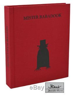 Mister Babadook JENNIFER KENT Signed First Edition 1st 2016 Horror LGBT