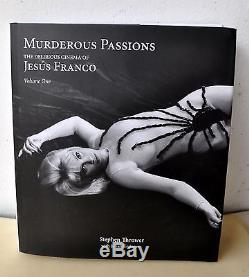 Murderous Passions Jesus Franco Stephen Thrower Signed Deluxe Ed 1/300 7 Vinyl