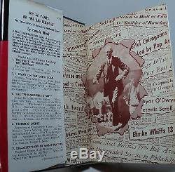 My 66 Years in the Big Leagues by Connie Mack signed scarce