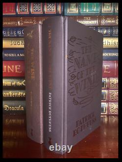 Name of the Wind & Wise Man's Fear SIGNED by PATRICK ROTHFUSS Hardbacks 1/400