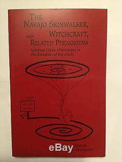 Navajo Skinwalker, Witchcraft Phenomena Collector Book 1st Edition Signed Copy