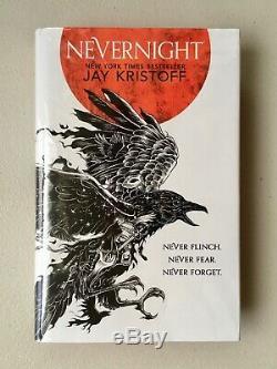 Nevernight Signed & Numbered Jay Kristoff, Goldsboro UK 1st/1st, Red Edges