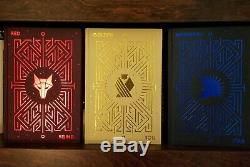 New! Fairyloot Signed Red Rising Trilogy By Pierce Brown Limited Ed In Hand