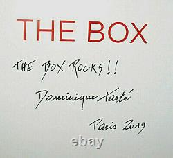 New SIGNED Numbered Limited The Box Dominique Tarle Rolling Stones Photographs