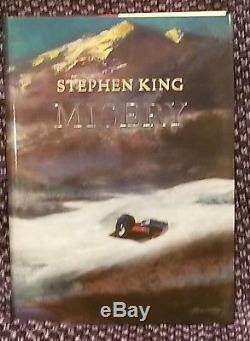 New Signed Slipcased ARTIST EDITION MISERY STEPHEN KING SUNTUP PRESS