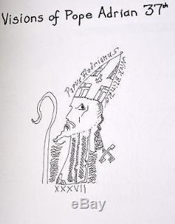 Nick Blinko Visions of Pope Adrian 37th Special Edition 1/37 Outsider Art Signed