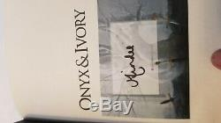 Onyx and ivory fairyloot sprayed edge specail editon signed