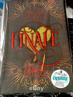 OwlCrate Finale Signed Book Stephanie Garber Exclusive Sealed With Extras