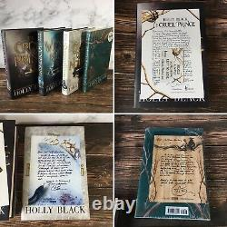 OwlCrate Holly Black Folk of the Air Set Cruel Prince Wicked King QoN HTKOELTHS