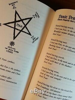 PANPARADOX Vexior Grimoire 1st Ed #39/677 Signed copy! Chaos Black Magic Ixaxaar