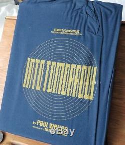 PAUL WELLER'INTO TOMORROW' SIGNED DELUXE GENESIS PUBLICATIONS- Very low No