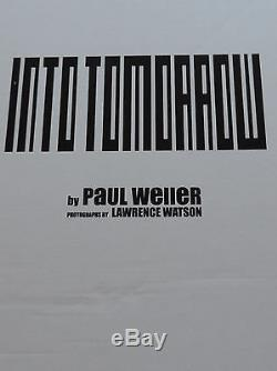 PAUL WELLER Into Tomorrow SIGNED Deluxe Edition of 350 Genesis Publications Book