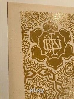 PEACE WOMAN Shepard Fairey Signed/Numbered Obey Giant 1st edition