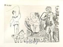 Pablo Picasso Le Cocu Magnifique 1/200 Signed Crommelynck 1968 12 Etchings Fine