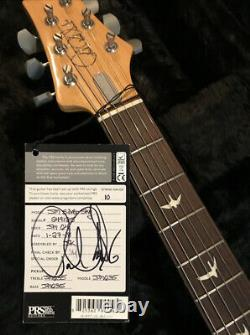 Paul Reed Smith SIGNED 1st One! John Mayer Silver Sky Launch Edition LTD HSC