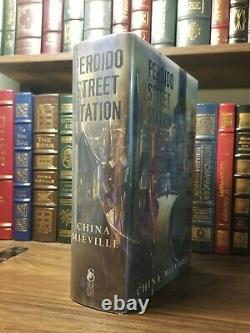 Perdido Street Station China Mieville SIGNED/NUMBERED SUBTERRANEAN PRESS