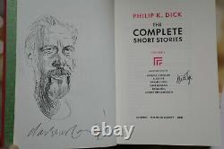 Philip K Dick Collected Stories vol 3 signed remarqued limited Folio Society