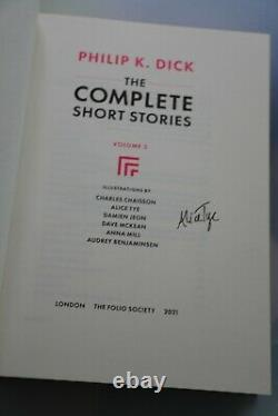 Philip K Dick Complete Short Stories SIGNED LIMITED 1st Folio Society Edition