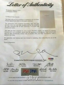 Picasso The Recent Years First Edition Psa/dna Signed By Picasso Very Rare