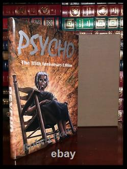 Psycho SIGNED by ROBERT BLOCH & RICHARD MATHESON Gauntlet Press Limited 1/500