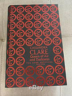 Queen of Air and Darkness by Cassandra Clare LIMITED EDITION SIGNED