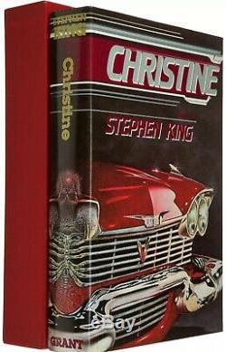 RARE-Limited Signed 1st Ed. CHRISTINE-Stephen King-Donald Grant Pub. Mint Copy