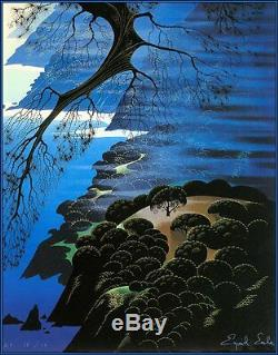 RARE Signed Eyvind Earle HC39/60 Complete Graphics-Poems 1st Printing