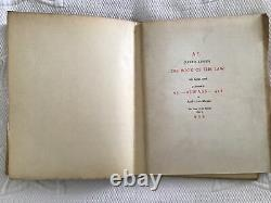 RARE Signed Inscribed Aleister Crowley / Equinox Of The Gods /1936 First Ed