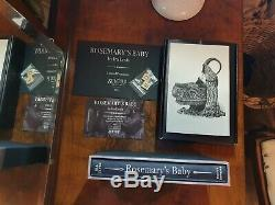 ROSEMARY'S BABYSuntup Press Signed By Chuck Palahniuk ONLY 250 Copies STUNNING