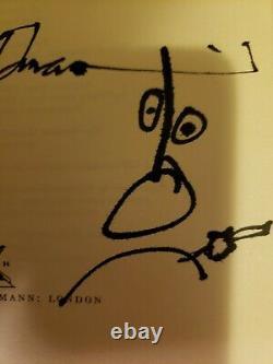 Ralph Steadman THE JOKE'S OVER Book Signed Splots 1st Ed Hunter S. Thompson