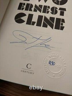 Ready Player One And Two Goldsboro GsFf Signed Sprayed Numbered