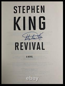 Revival SIGNED by STEPHEN KING Mint Hardback 1st Edition Print with CD Slipcase