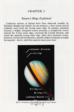 Ringmakers Of Saturn (1986) Dr. Norman Bergrun, Ultra Rare Signed 1st Edition