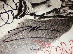 Rob Zombie & Sheri Moon Zombie Rare Signed Vinyl LP Record Mondo Sex Head + COA