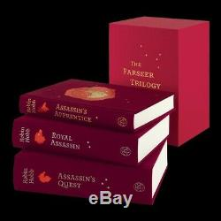 Robin Hobb Farseer Trilogy (Folio Society, 2020) Signed Copy Book