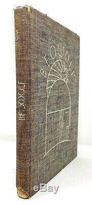 Rockwell Kent Beowulf Lithographs SIGNED Limited 1932 1st 1st Scarce NR