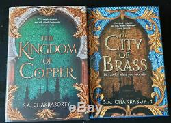 S. A. Chakraborty The City of Brass & Kingdom of Copper SIGNED NUMBERED Ltd Ed