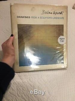 SCARCE Signed BARBARA HEPWORTHDrawings From A Sculptors Landscape1966 1st Ed