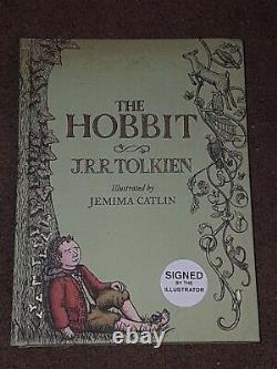 SCARCE! The Hobbit SIGNED J. R. R TOLKIEN Jemima Catlin ILLUSTRATED