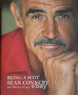 SEAN CONNERY signed BEING A SCOT autograph book 1st Edition JAMES BOND hardcover