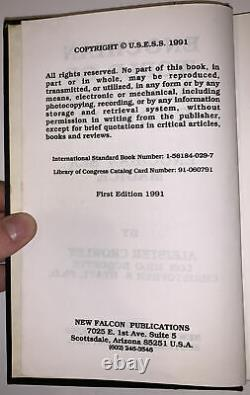 SIGNED, 1 of 111, ENOCHIAN WORLD OF ALEISTER CROWLEY, MAGICK, OCCULT, HYATT